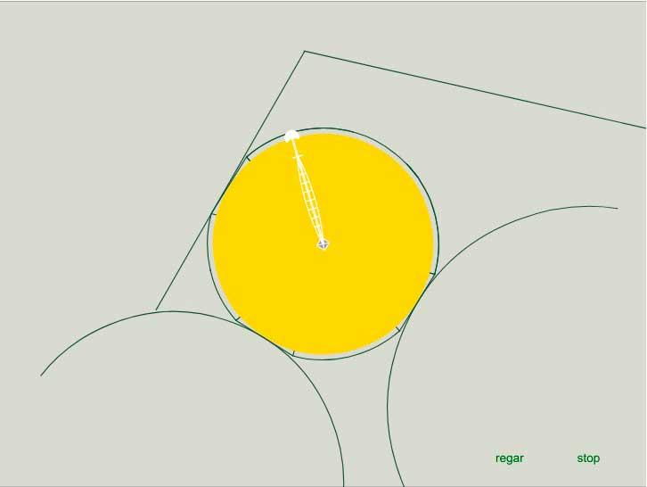 Моноспан однопролетная круговая машина