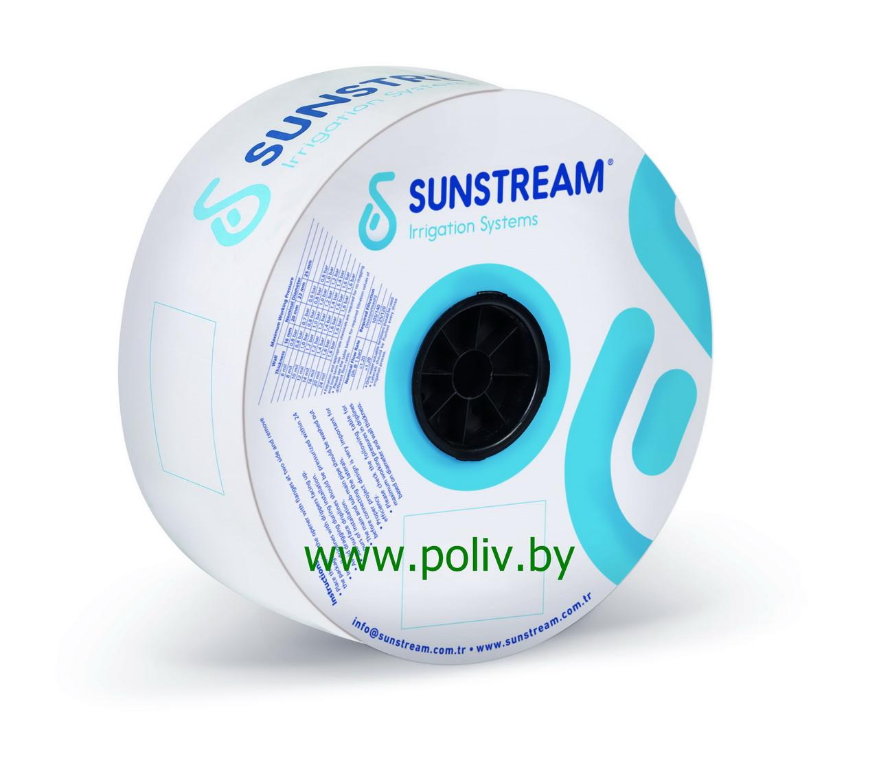 Капельная лента FLAT TAPE SunStream 16мм/8mil/30см/1,2л/час